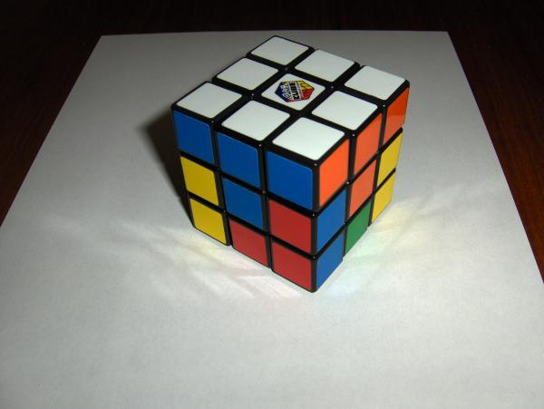 схема сборки кубика рубика.