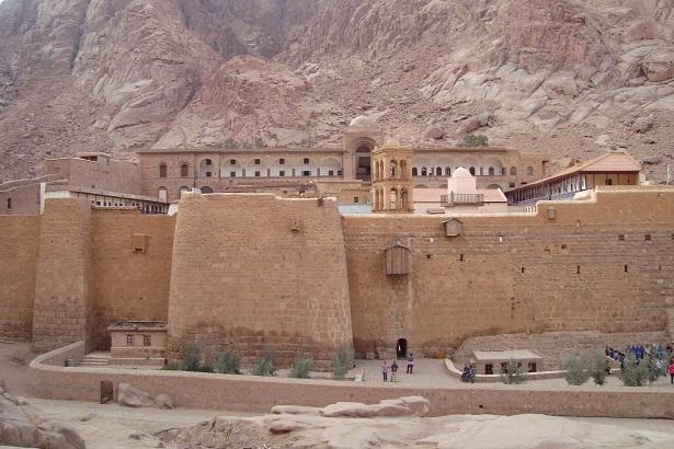 Монастырь святой Екатерины. Египет