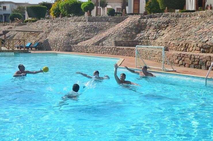 водное поло. отдых в Египте