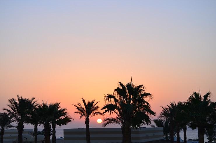 рассвет в Египте