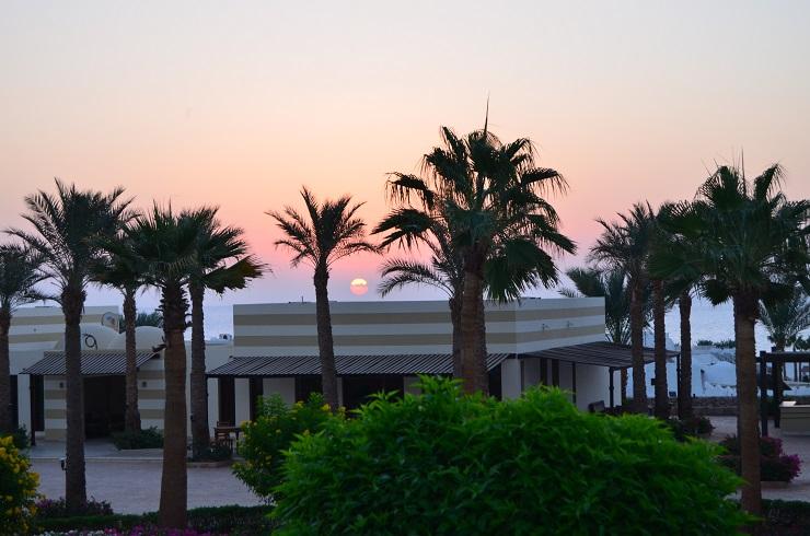 утро на отдыхе Египте