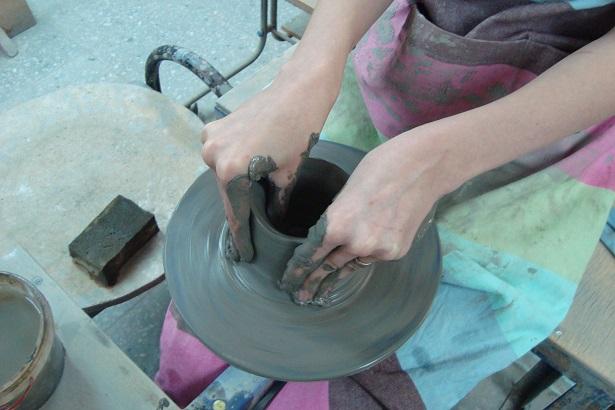 горшок из глины своими руками