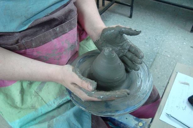 лепка из глины мастер-класс